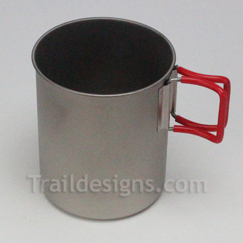 Evernew 760ml Ultra Light Titanium Pot/Mug (EBY270R)