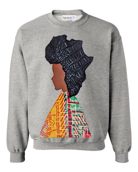 Afro Woman Sweatshirt