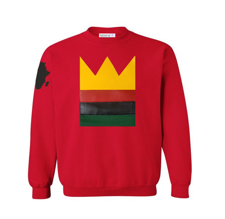 Toddler & Youth: RGB Crown Sweatshirt