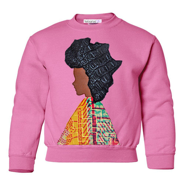 Toddler & Youth: Afro-Woman Sweatshirt