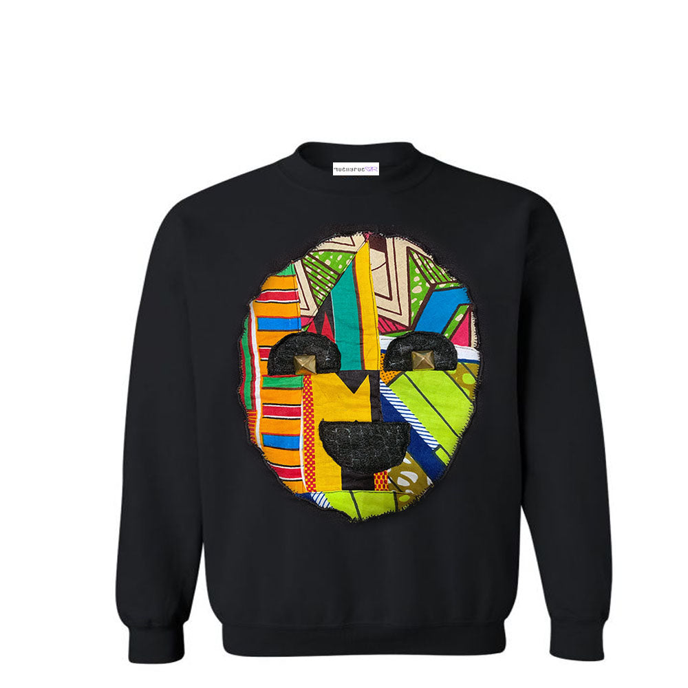 KIDS: African Mask Sweatshirt