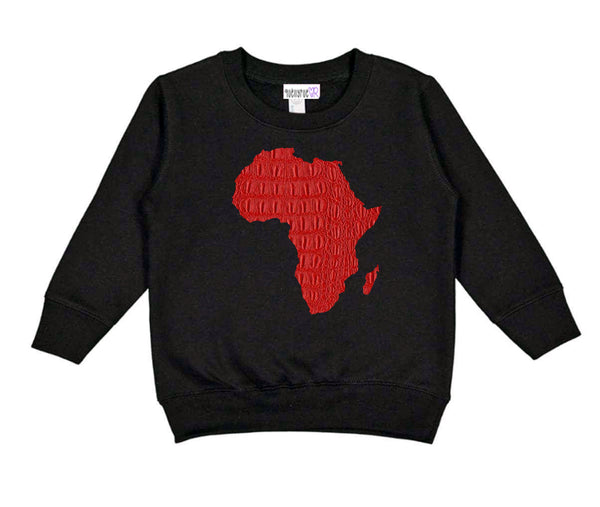 Toddler & Youth: Motherland  Red Gator Sweatshirt