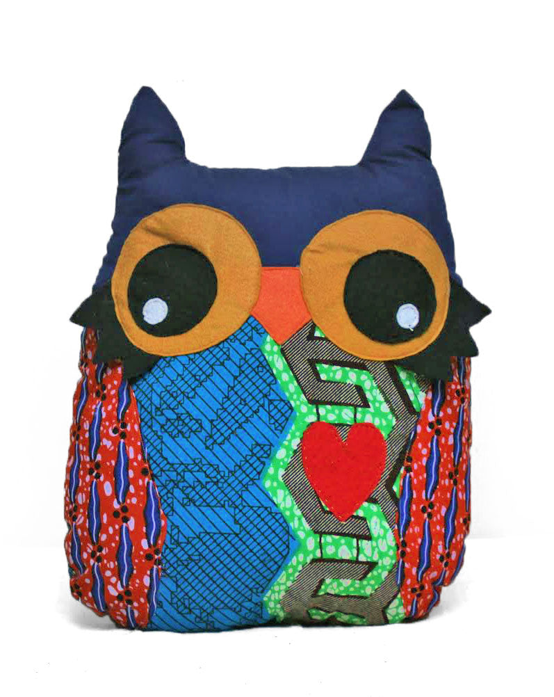Wise Owl Pillow