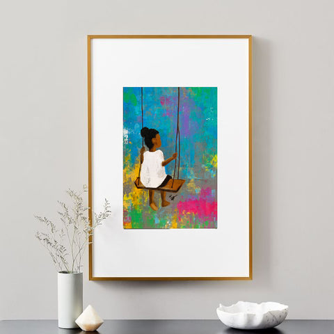 Solitude. giclee art print