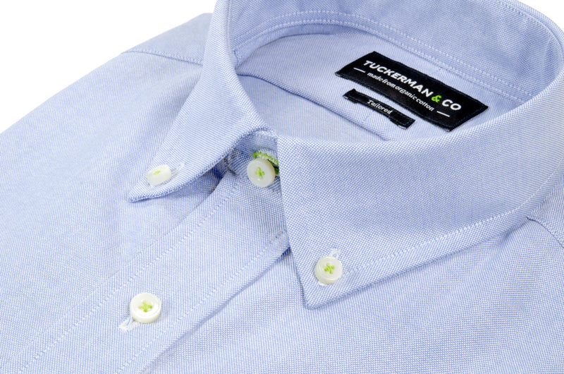 Blue Oxford Button Down