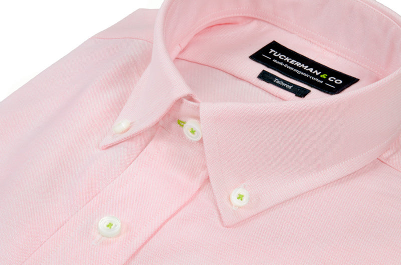 Salmon Pink Oxford Button Down