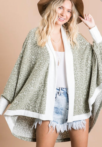 Soft Brushed Cardigan