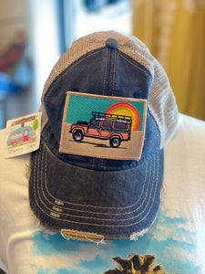 Beach Jeep Cap