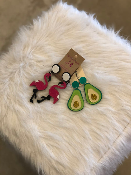 Beth's Addiction Earrings