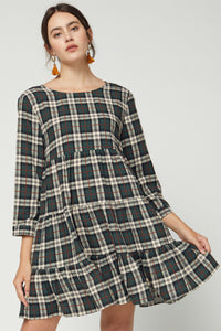 Luke Plaid Dress