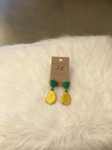 PF Threaded Pineapple Earrings