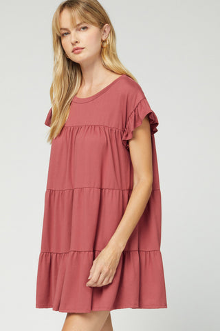 Butter Soft Tier Dress