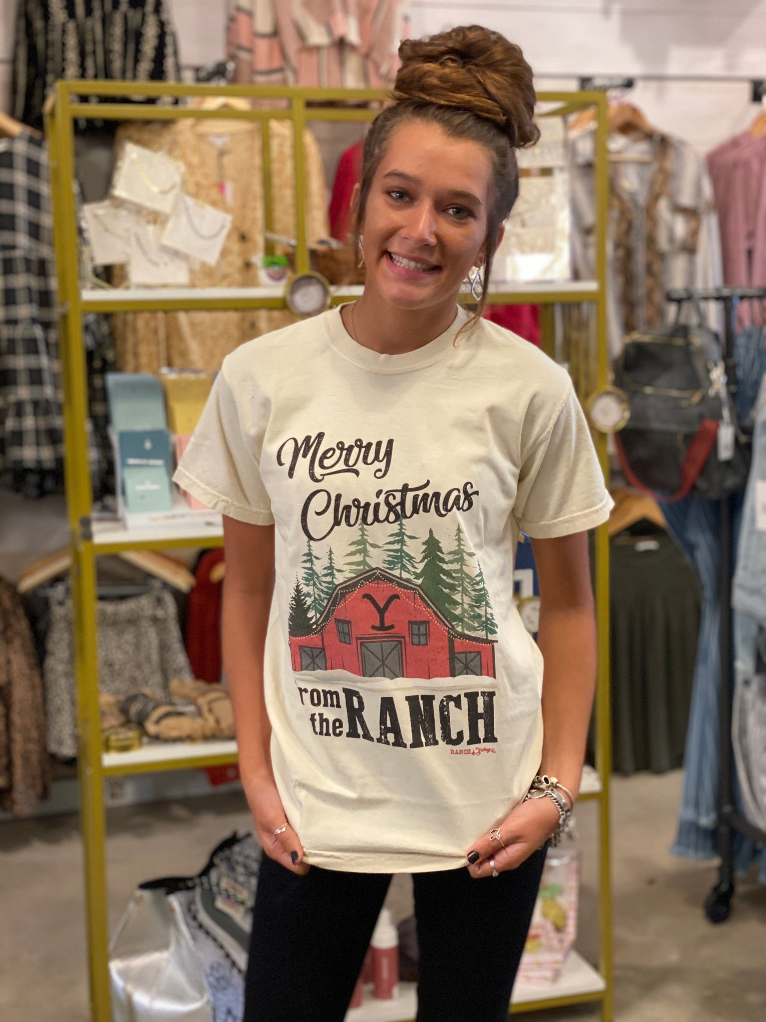 Merry Christmas from the Ranch Tee