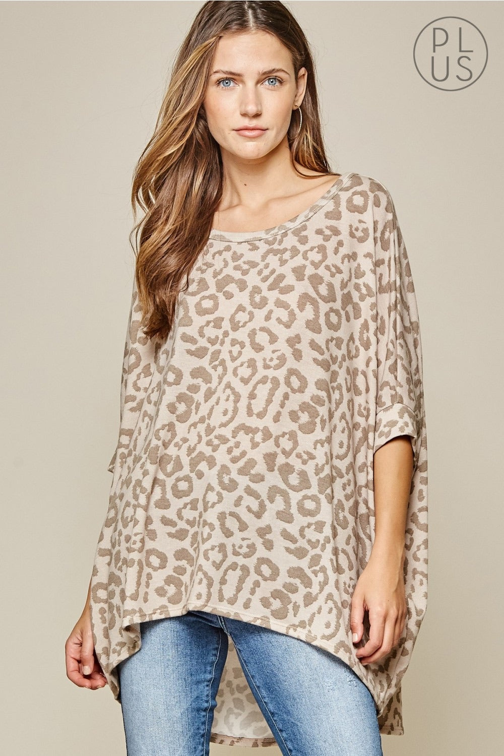 Dolman Sleeve Loose Fit Top