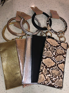 Bangle Keychain with Clutch