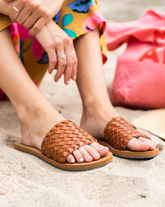 One Way Slide Sandal