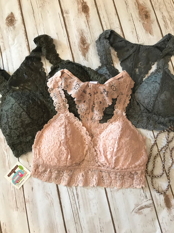 Lace Padded Bralette