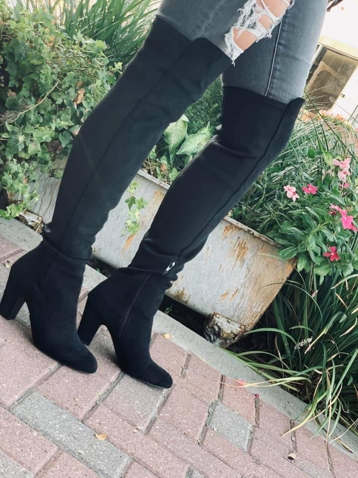 Canyon Suede Knee High Boots