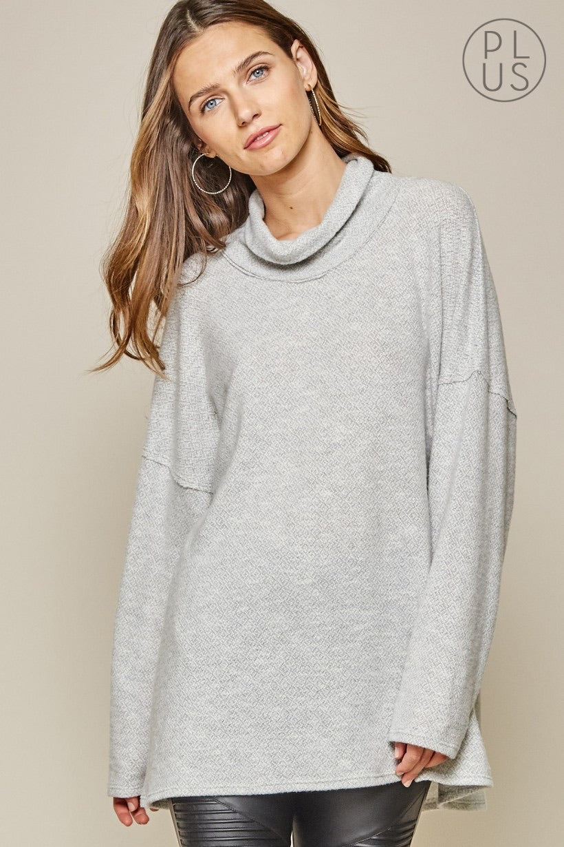 Soft Knit Tunic Top