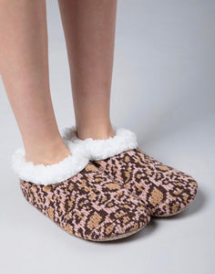 Cheetah Print Slippers