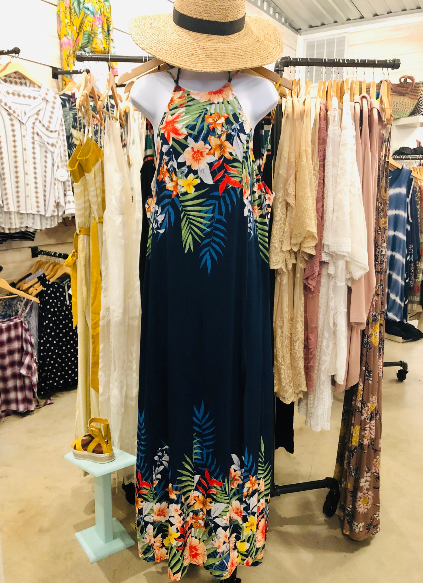 Aloha Slit Dress