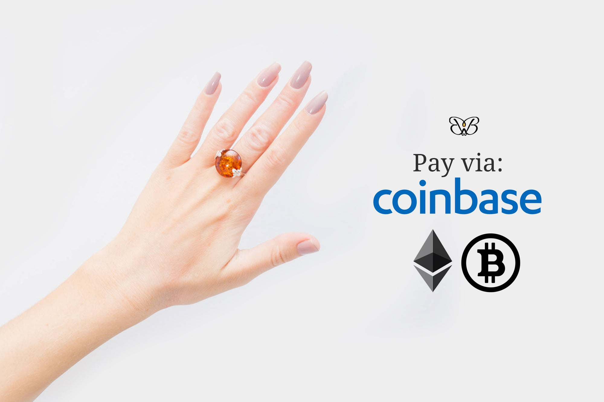 Now you can Pay for Baltic Beauty Jewellery with the World's leading Cryptocurrency!