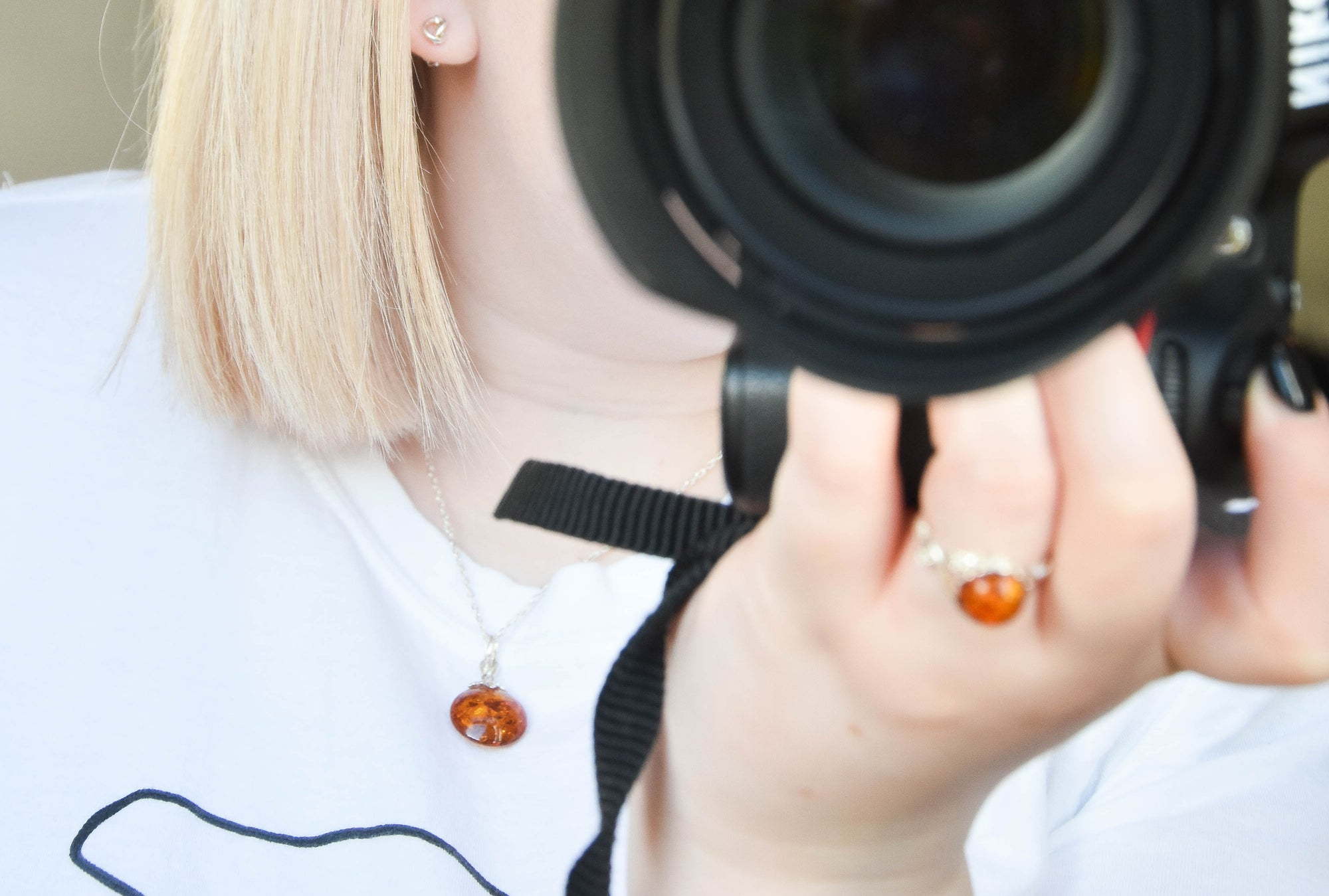 How to Wear Baltic Amber Jewellery with Rebecca Ellis