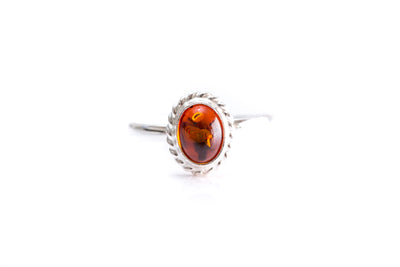 Mini Amber Quintessence Ring