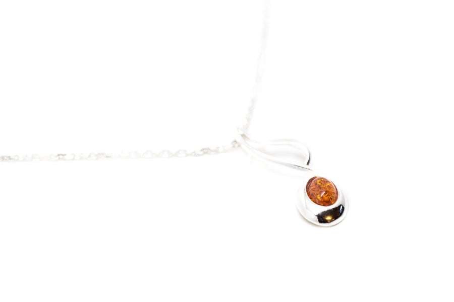 Baltic Beauty Pendant Amber Quaver Note Pendant