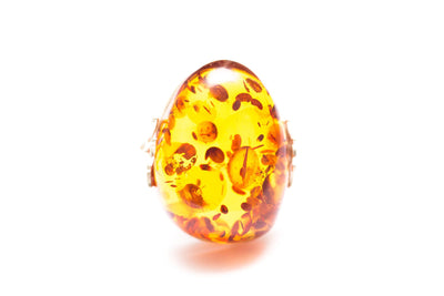 Baltic Beauty Rings Amber Statement Ring