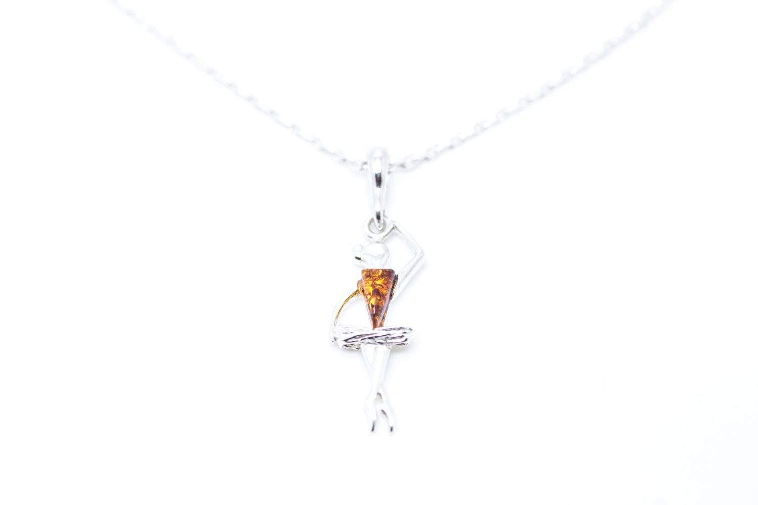 Baltic Beauty Pendant Ballerina Dancer Pendant