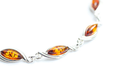 Baltic Beauty Bracelets Baltic Amber Link Bracelet