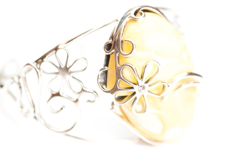 Baltic Beauty Bangles Butterscotch Amber Bangle