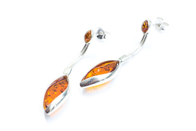 Baltic Beauty Earrings Dangle Amber Drop Earrings