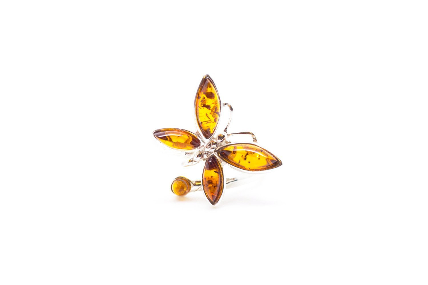ring of rutheny rings jewelry butterfly sculpture image product