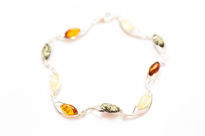 Baltic Beauty Bracelets Elegant Bright Amber Bracelet