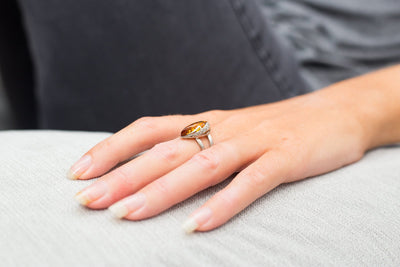 Baltic Beauty Rings Limited Edition Amber Ring