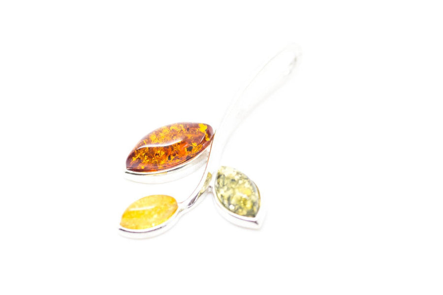 Little Multicolour Amber Pendant