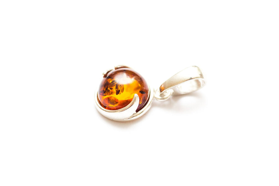 Baltic Beauty Pendant Little Round Amber Pendant