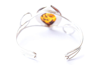Baltic Beauty Bangles Modern Baltic Amber Bangle