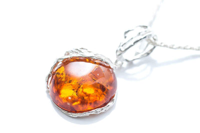 Baltic Beauty Pendant Nature Inspired Baltic Amber Pendant