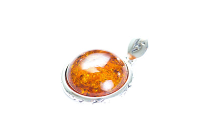 Baltic Beauty Pendant Patterned Amber Pendant