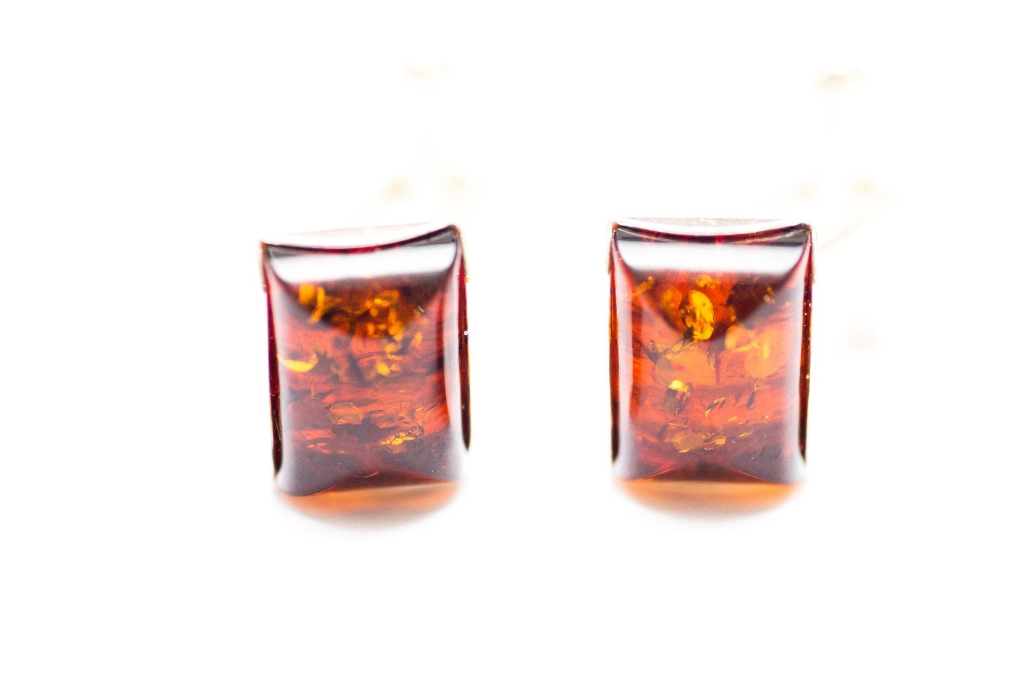Baltic Beauty Cufflinks Rectangular Amber Cufflinks
