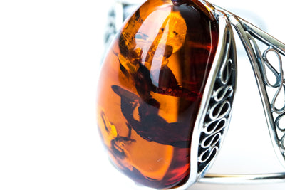 Baltic Beauty Bangles Statement Amber Bangle