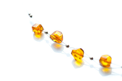 Baltic Beauty Necklaces Stylish Amber Bead Necklace