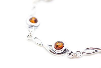 Baltic Beauty Bracelets Treble Clef Amber Bracelet