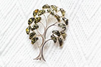 Baltic Beauty Brooches Tree of Life Brooch