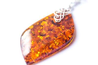 Baltic Beauty Necklaces Unique Statement Amber Necklace