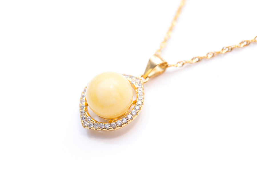 Solstice Marquise Necklace