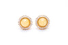 Solstice Pavé Stud Earrings